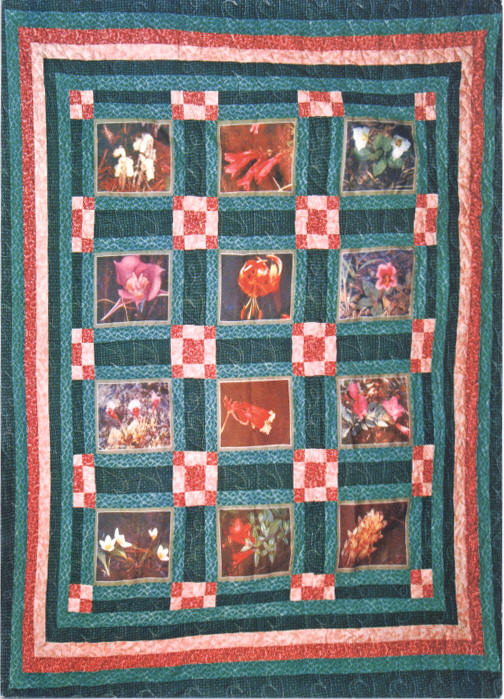 Wildflower Quilt by Alice Parker